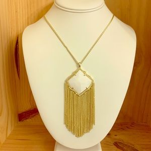 NWT Kendra Scott Kingston Long Pendant Necklace